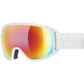 UVEX Topic FM sphere Goggles white mat/mirror rainbow